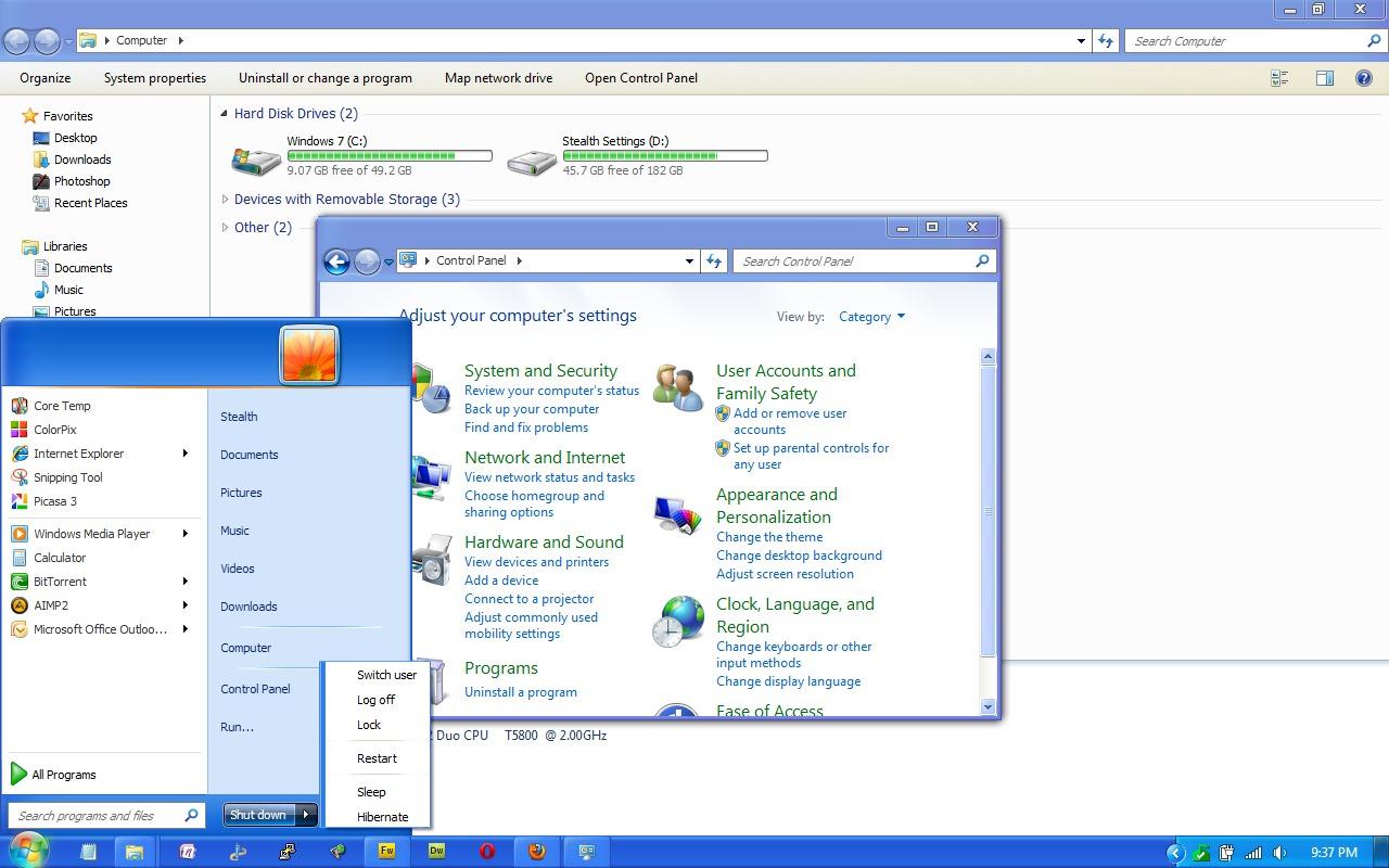 Transformer l 39 interface graphique de windows dans windows for Fenetre windows xp