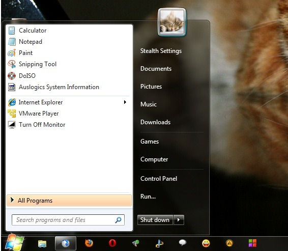 Customize your Start button with Windows 7 Start Button