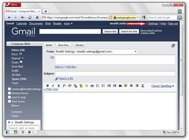 1 Gmail的设置