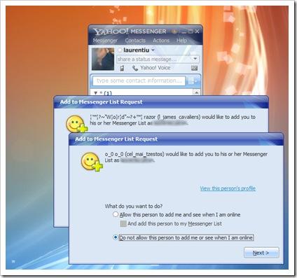 Yahoo документи за самоличност