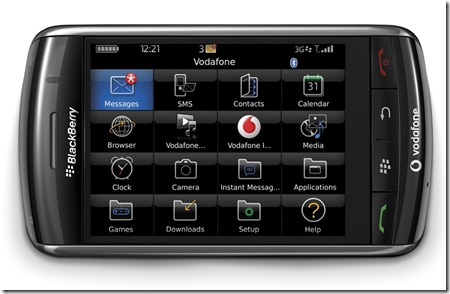 vodafone blackberry-badai-2008