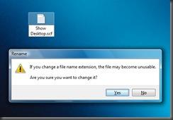 Show Desktop scf