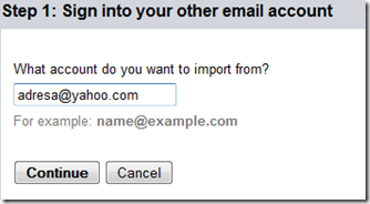 import other email accounts