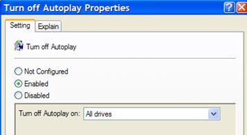 Спри Autoplay