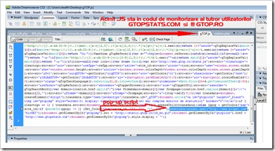 GTop-JS-סקריפט קופץ