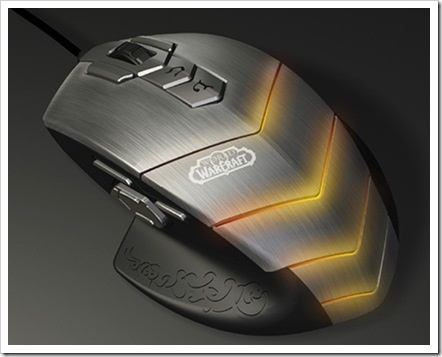 SteelSeries-World-of-Warcraft Mouse