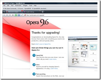 USB opération 9.61