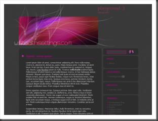 Wordpress Theme. Stealth-Einstellungen
