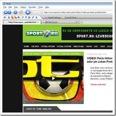 sport.ro κανένας τίτλος