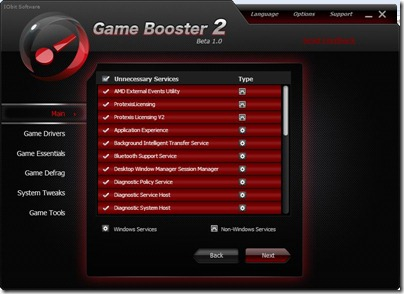 Game Booster Usluge