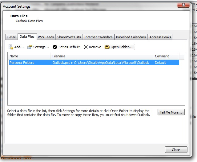 How Do I Save Mail And Contacts From Microsoft Office Outlook 2007