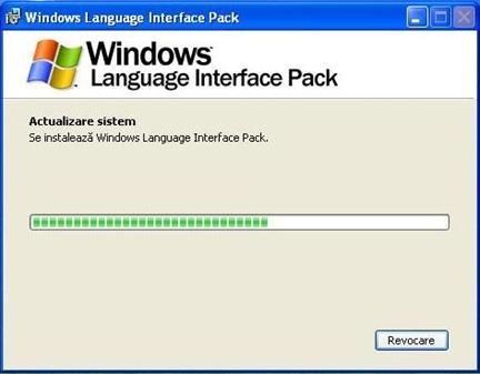 Roemeense installeren XP