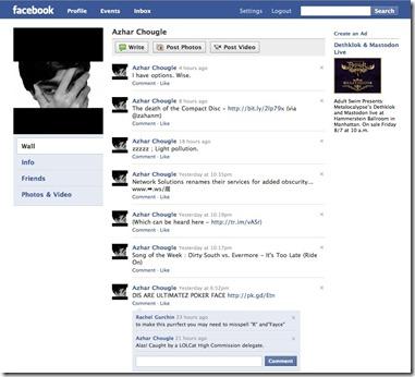 Facebook Lite capture d'écran