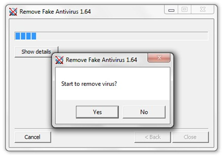 Hapus Fake Antivirus Software