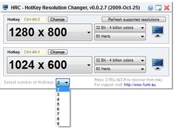 change resolution windows