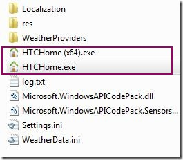 htc home exe