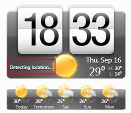 location weather data
