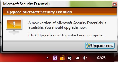 Aktualizacja programu Microsoft Security Essentials
