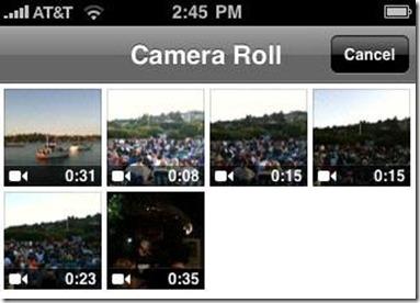 IPhone Qik Video Streaming