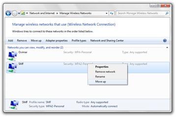 válassza a vezeték nélküli hálózat
