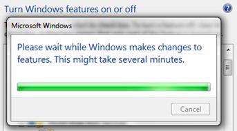 деинсталирате Windows IIS
