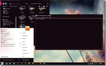 zune desktop theme
