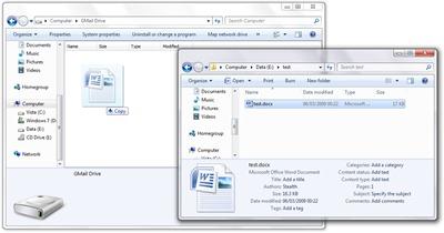 test dosyası - gmail drive
