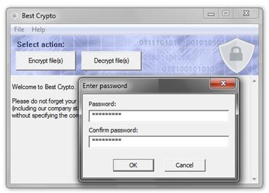 crypte mot de passe