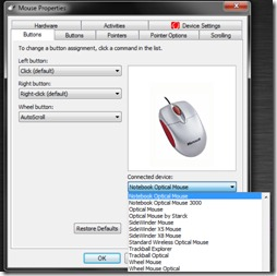 Download and install wacom technology hid-compliant mouse driver.