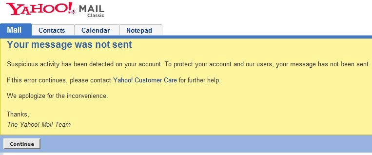 Yahoo! Mail - They also had better days  - STEALTH SETTINGS