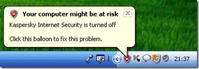 您的计算机可能处于危险之中