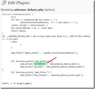 modifier plugin wp
