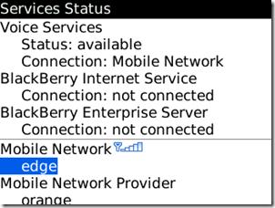 黑莓互聯網服務