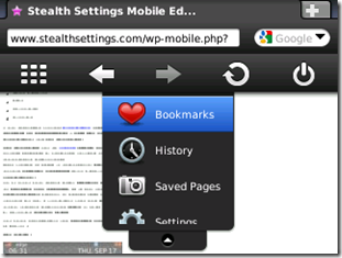 5 opera mini bookmark