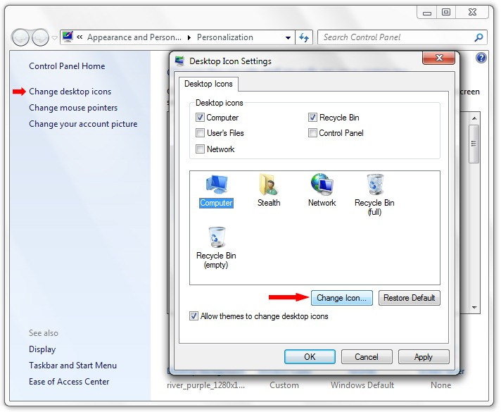 how to change com port in windows 7
