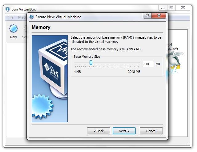 paigutatud Windows XP RAM