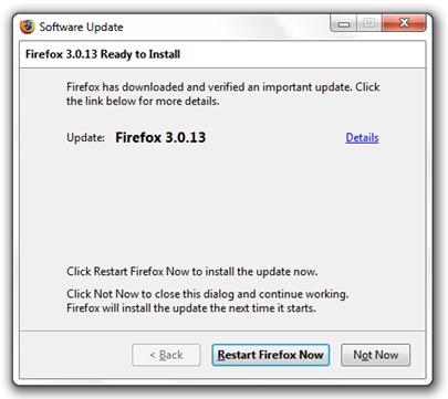 firefox aktualizacja