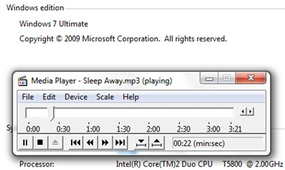 παλιά WMP στα Windows 7