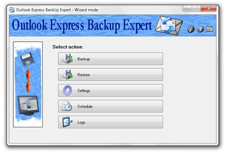 Outlook Express гръб