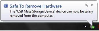 Veilig verwijderen hardware