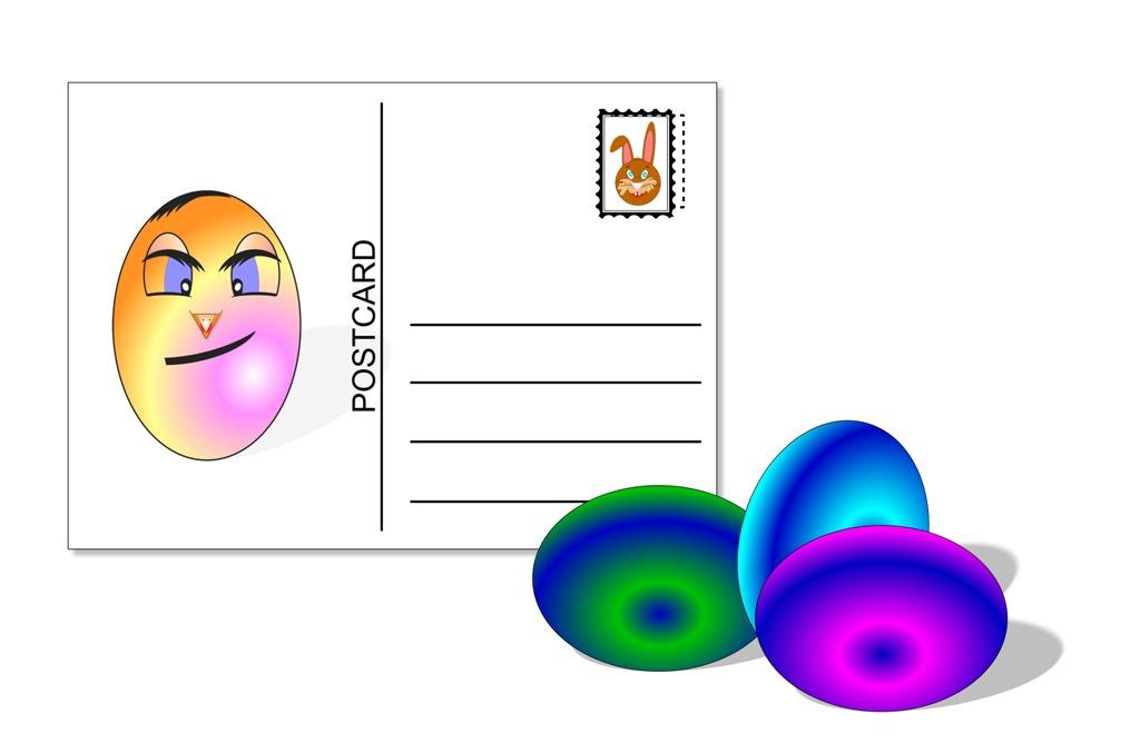 Пощенска картичка-паста