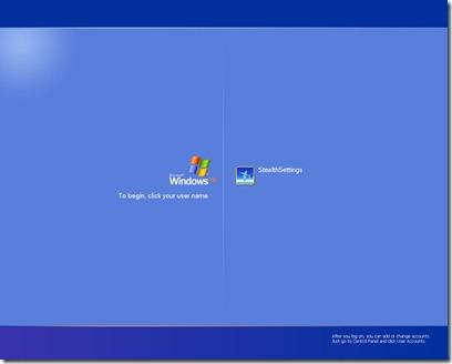 loginscreen ekran görüntüsü