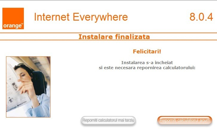logiciel internet everywhere e160