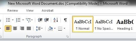 microsoft word compatibility mode
