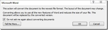 konvertujícího dokumenty