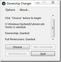 ownership changer