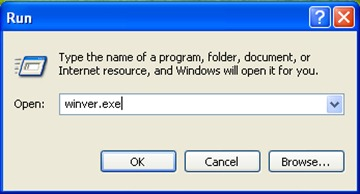 Abrir winver - Acerca de Windows