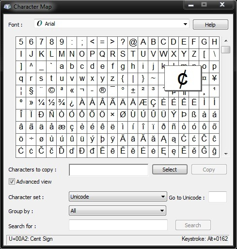 Create keyboard shortcuts to any special character symbol for Raccourci clavier agrandir fenetre windows 7