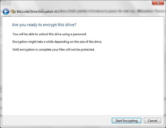 kryptera hårddisk