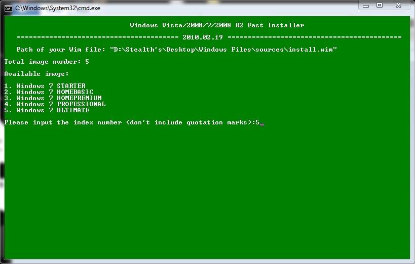 Hoe kan ik windows 7 installeren van een externe harde schijf windows os tweak stealth - Externe verwijderbare partitie ...